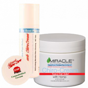 combo pack jar travel roll on chiro cream cbd miracle nutritional products 300x300