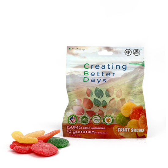 EDIBLES fruit salad 150