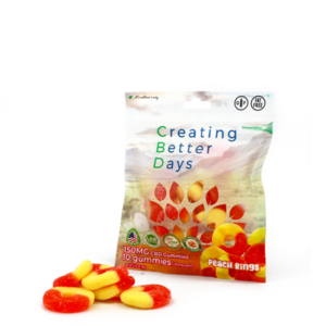 EDIBLES peach rings 150
