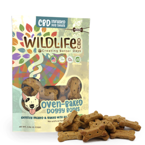 WILDLIFE dog treats large baked