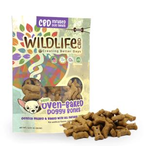 WILDLIFE dog treats mini baked