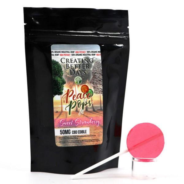 50mg EDIB POPS sweetstrawberry bag e1531344320648